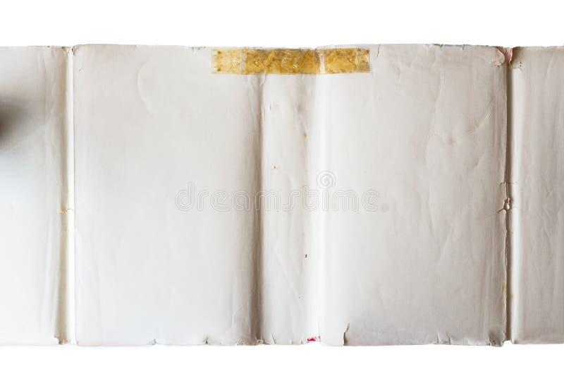 Couverture avant d'un livre à cadre classique images stock
