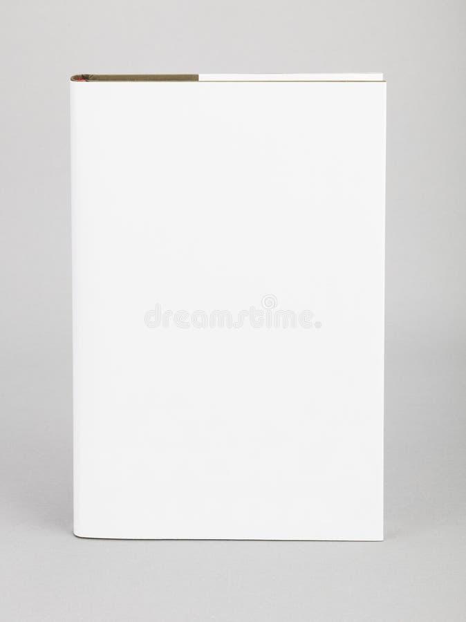 Couverture blanche 5,5 x 8,8 de livre vide po images stock