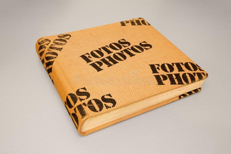 Couverture d'album photos photo stock