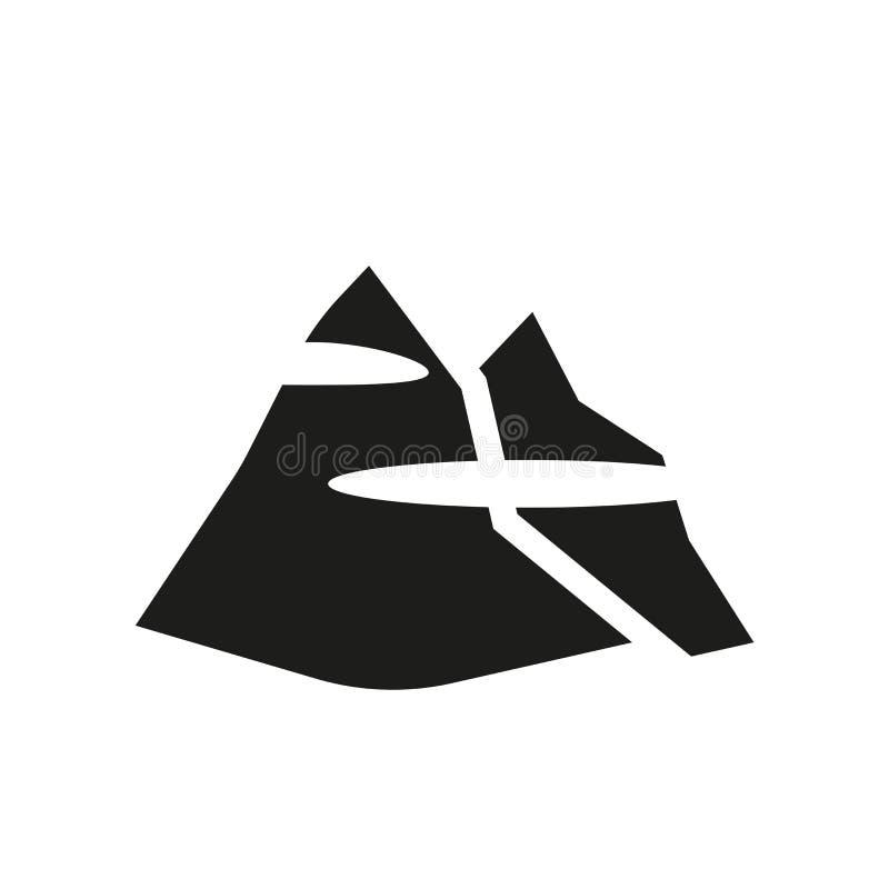 couverture d'icône de brouillard Couverture à la mode de concept de logo de brouillard sur le blanc illustration de vecteur