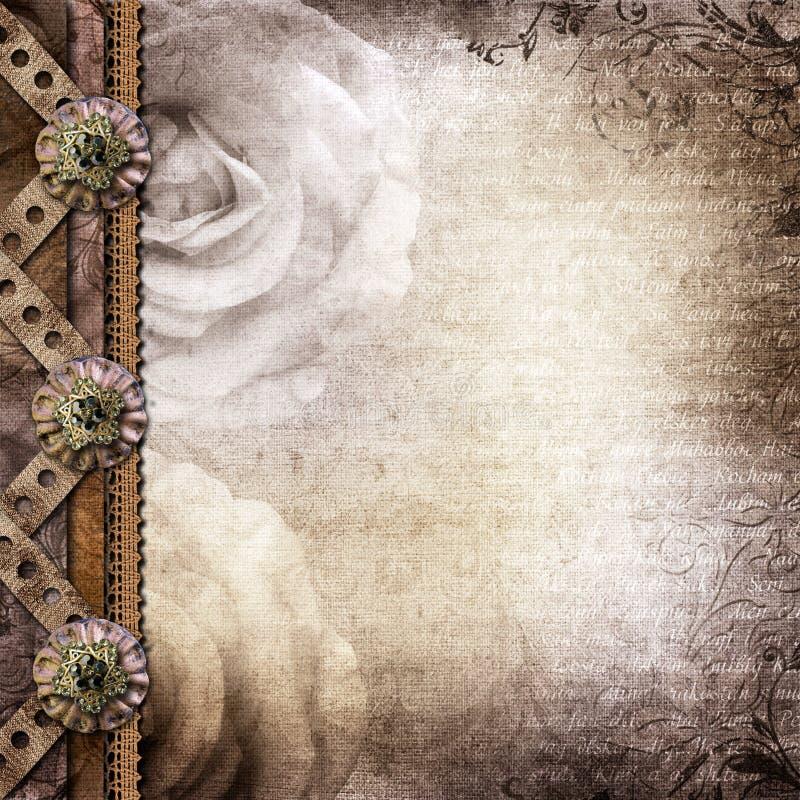 Couverture de Brown pour un album avec des photos images libres de droits