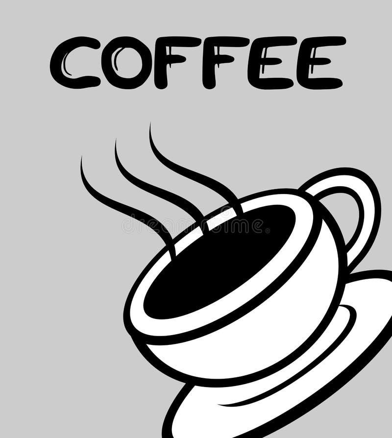 Couverture de café illustration stock
