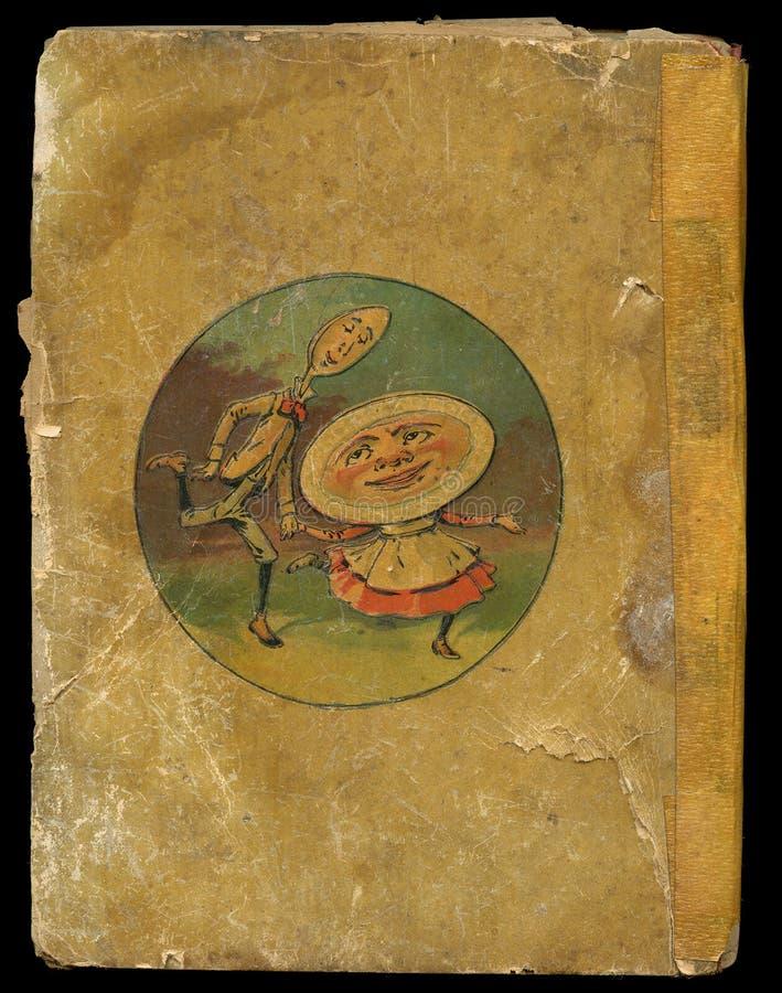 Couverture de livre antique photos stock