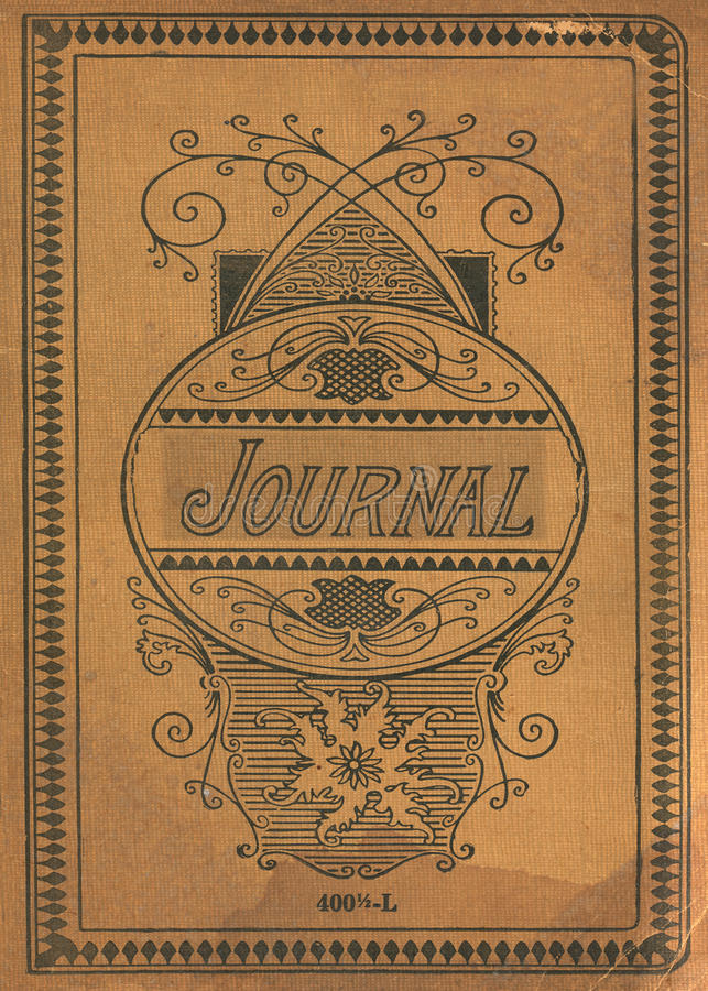 Journal Book Cover Design