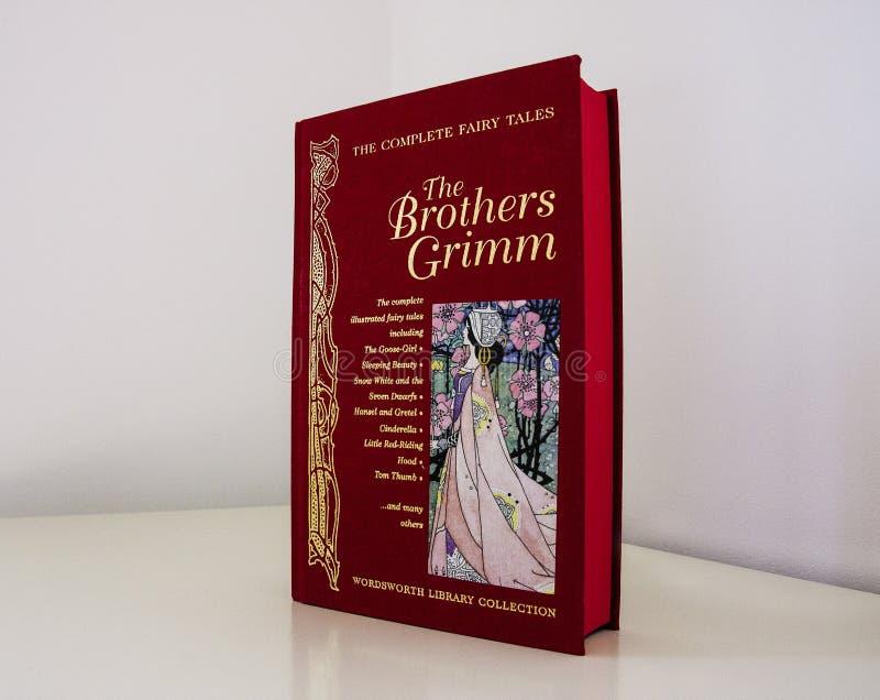 Couverture de livre de conte de fées photographie stock libre de droits