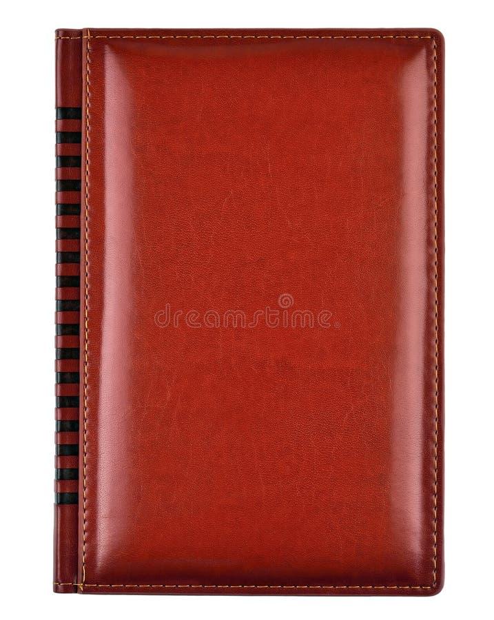 Couverture de livre en cuir photo stock