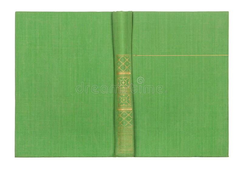 Couverture de livre vert clair extérieure images stock