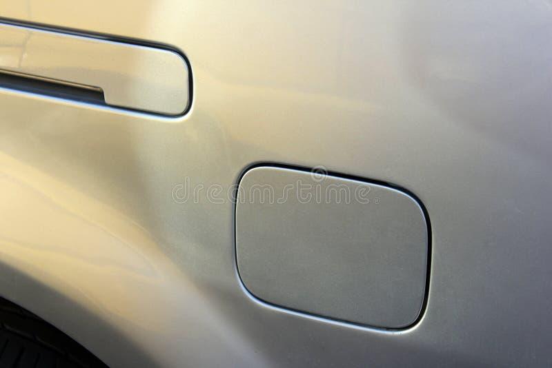Couverture de réservoir de carburant de voiture photographie stock libre de droits