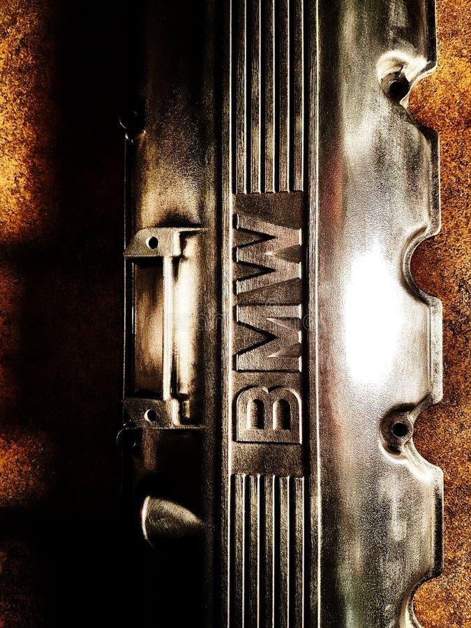Couverture de valve de BMW images libres de droits