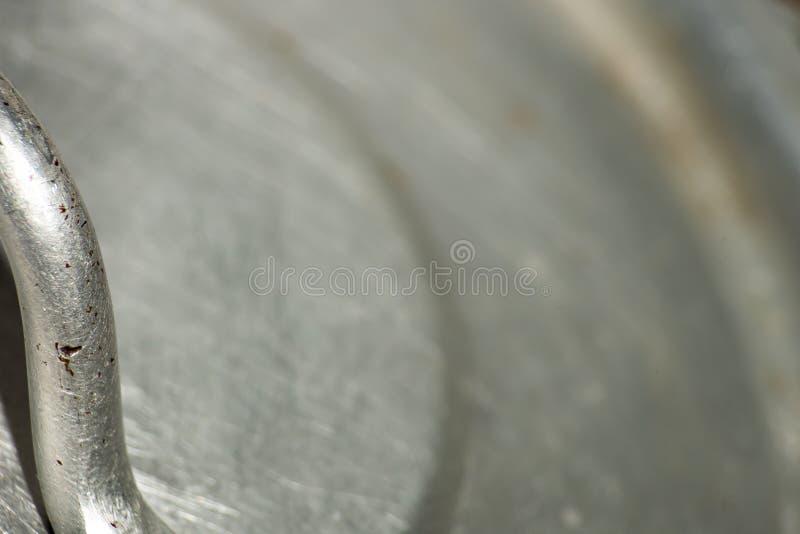 Couverture de vieille casserole photographie stock