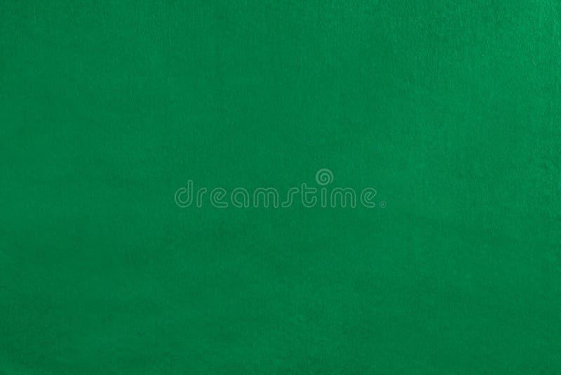 Couverture verte vide de velours images libres de droits