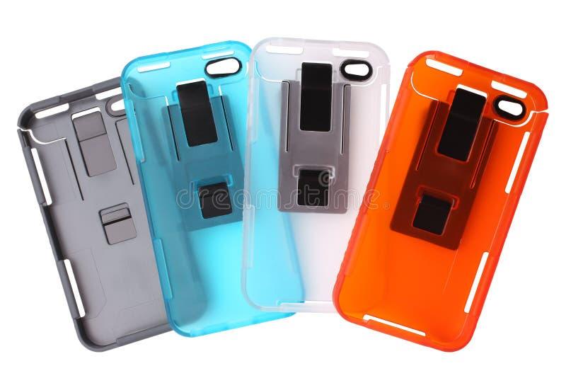 Couvertures de téléphone portable photo stock