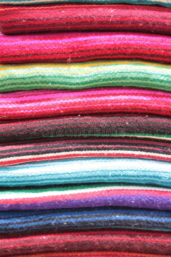 Couvertures mexicaines image stock
