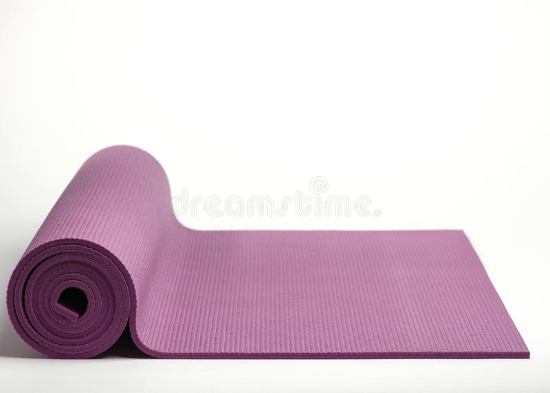 Couvre-tapis d'exercice. photographie stock libre de droits