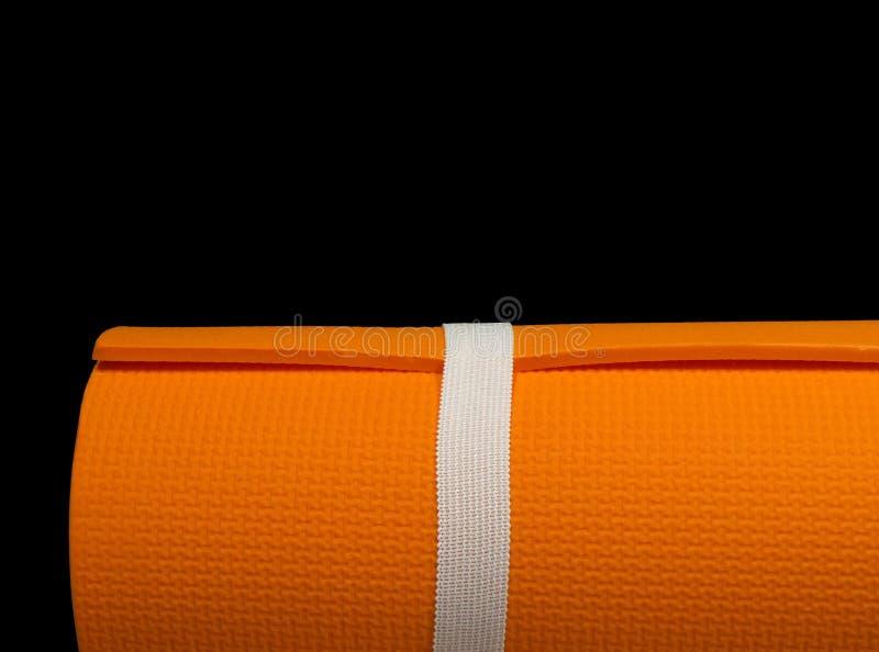Couvre-tapis de yoga et de pilates image libre de droits
