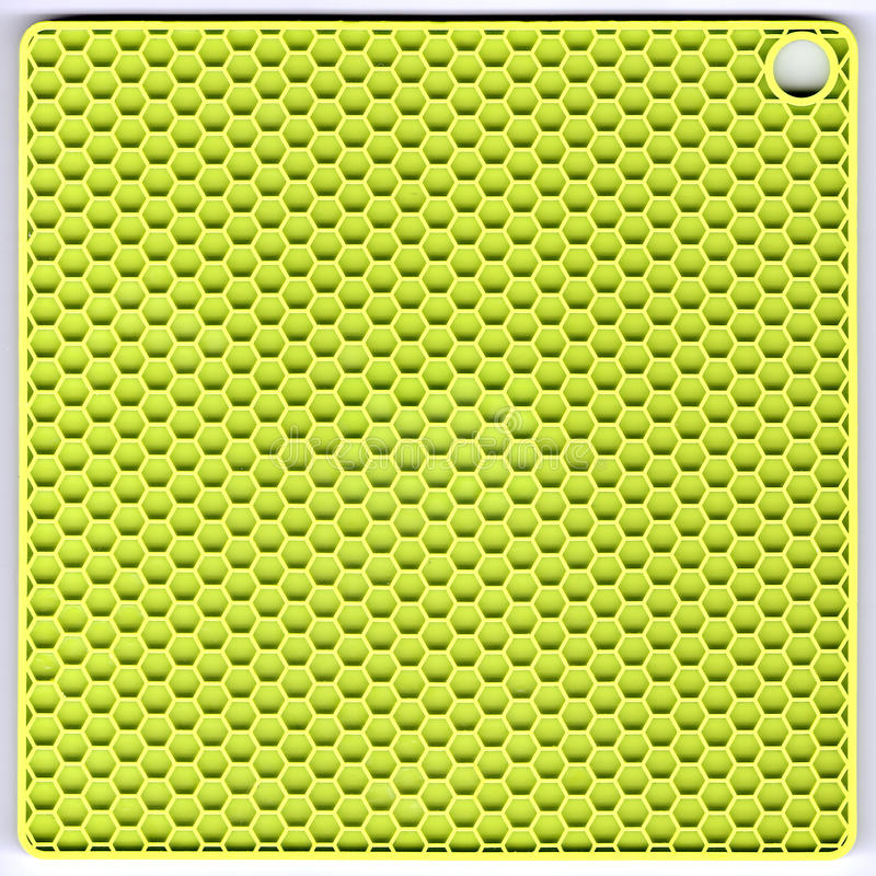 Couvre-tapis vert de silicium image stock