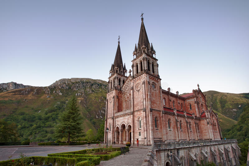 Covadonga Church Stock Photos