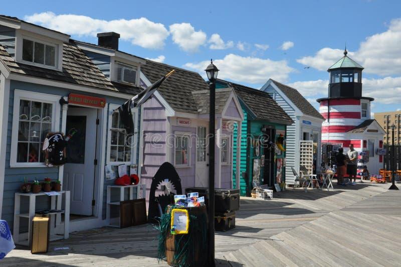 Cove de capitaine à Bridgeport, le Connecticut photos stock