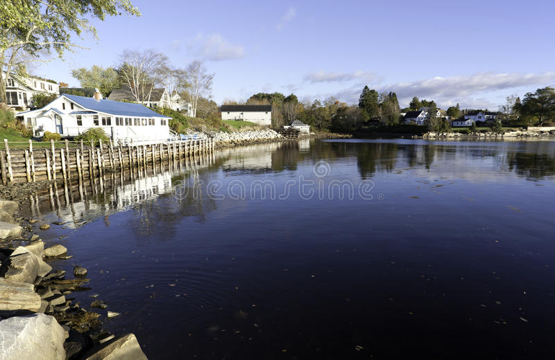 Cove In Searsport Maine Stock Photography