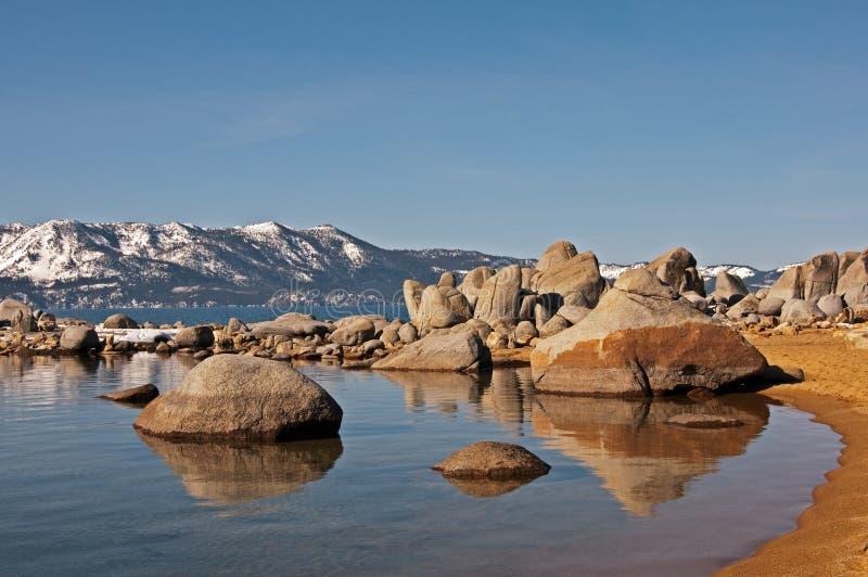 coveLake Tahoe zephyr arkivfoto