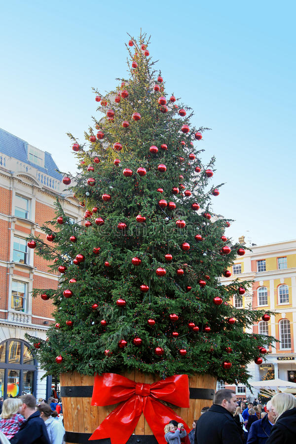 Covent Garden Christmas stock photography