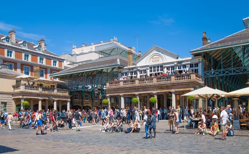 Covent garden market, London. stock photo