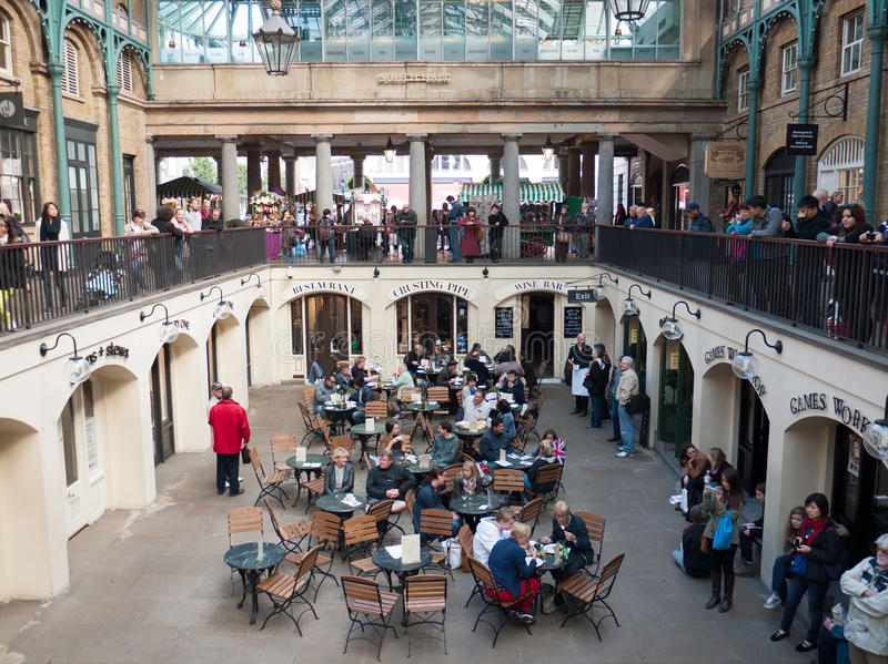 Covent Garden Market, London, UK stock photography