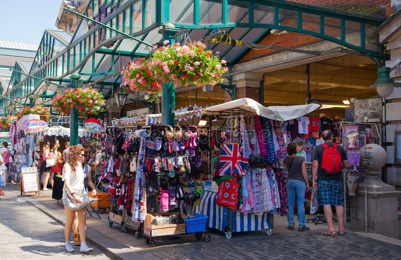 Covent-Garten-Markt, London stockbilder