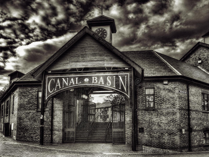 Coventry Canal Basin royalty free stock photo