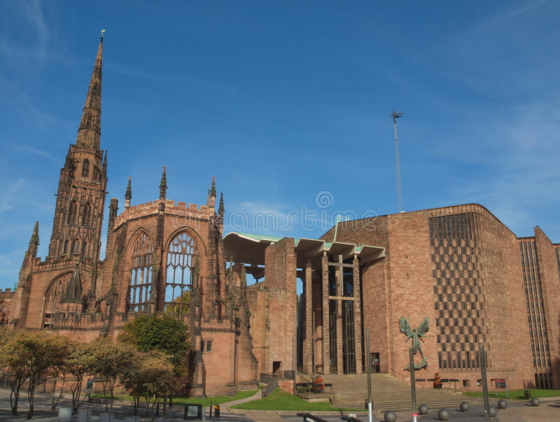 Coventry Cathedral royalty free stock images