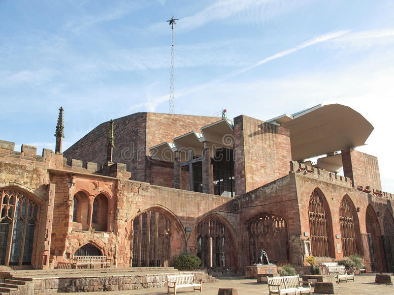 Coventry Cathedral stock photo