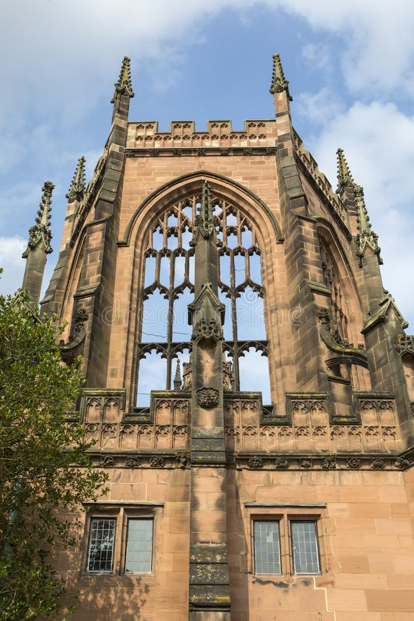 Coventry Cathedral in Coventry stock photo