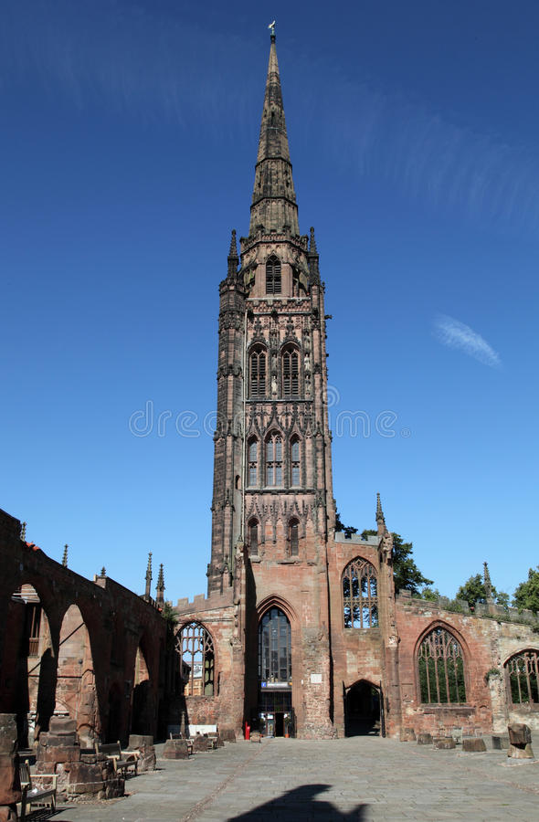 Coventry Catherdral imagem de stock