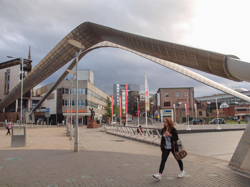 Coventry City Centre stock photos
