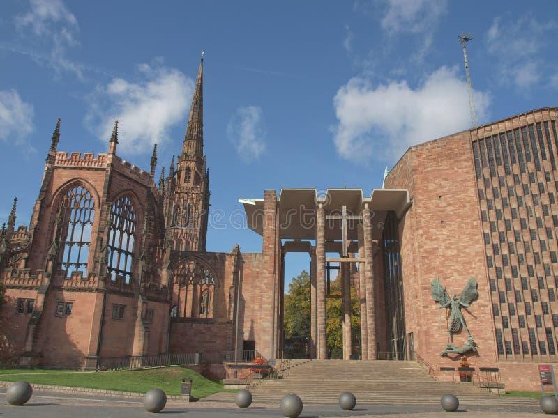 Coventry domkyrka royaltyfri bild