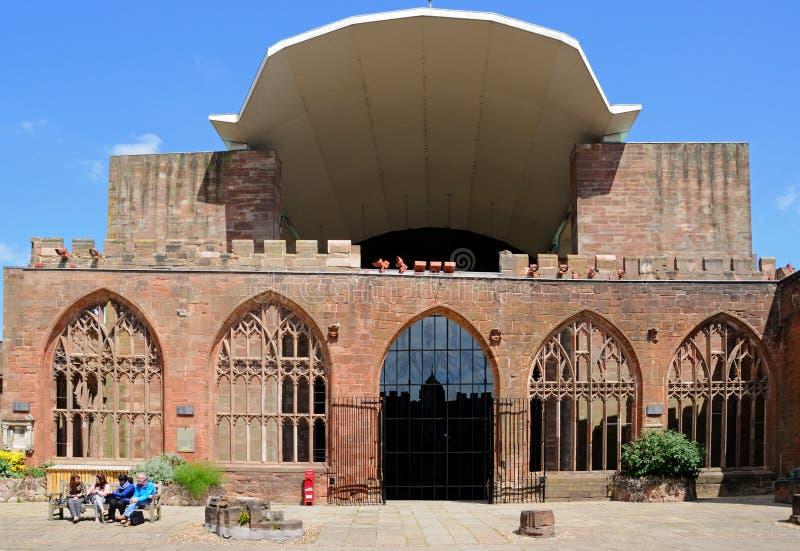 Coventry domkyrka arkivbilder