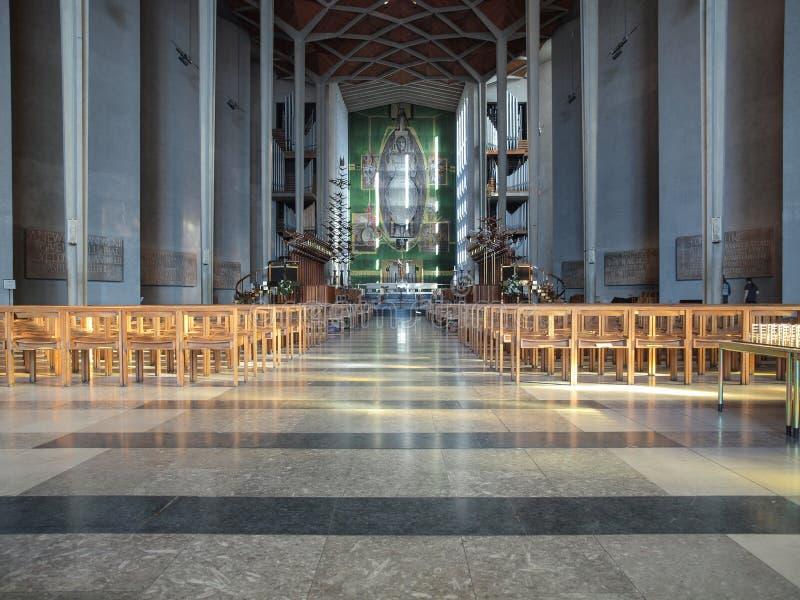 Coventry domkyrka i Coventry fotografering för bildbyråer