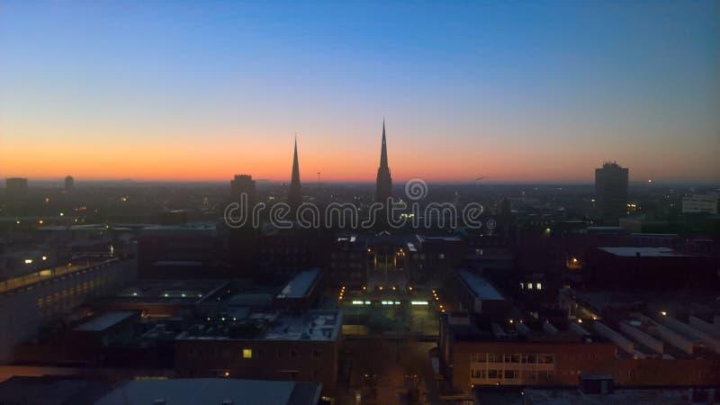 Coventry het UK royalty-vrije stock fotografie