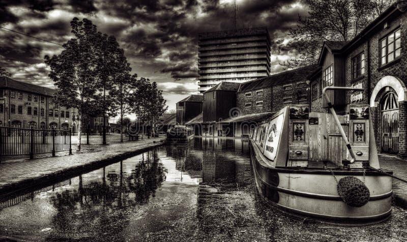 Coventry-Kanal-Becken stockfotos