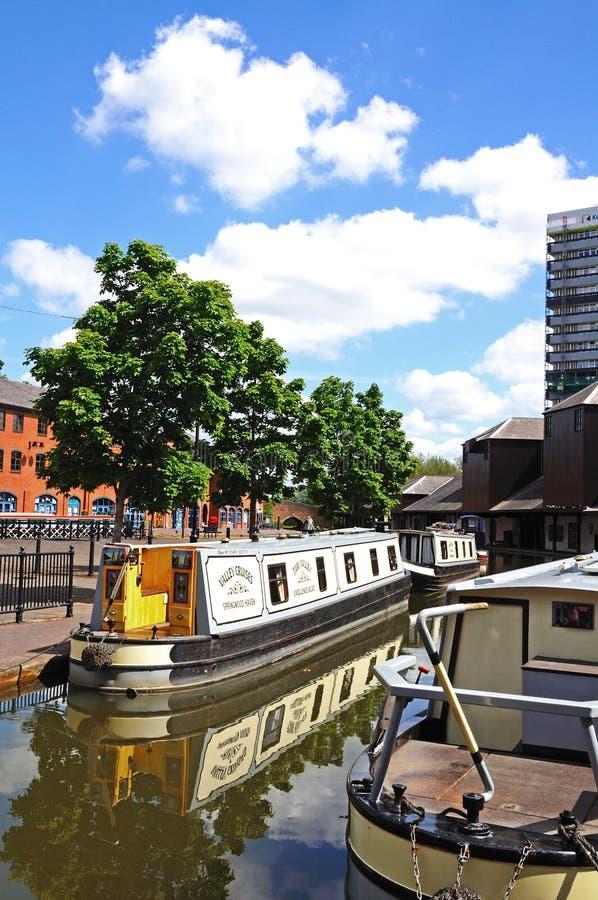 Coventry-Kanal-Becken stockbild