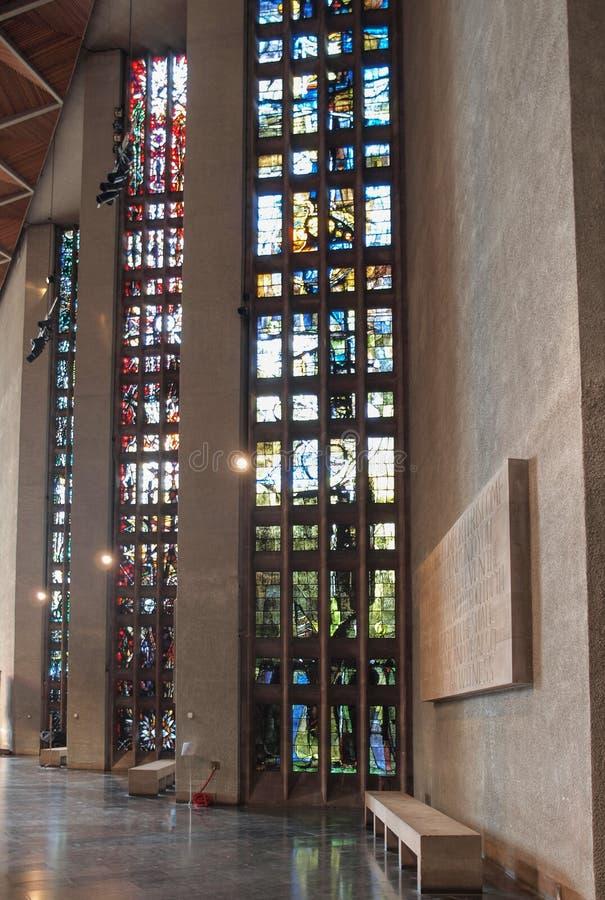 Coventry katedra w Coventry obrazy royalty free