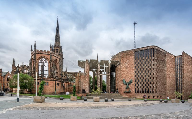 Coventry-Kathedrale stockfoto