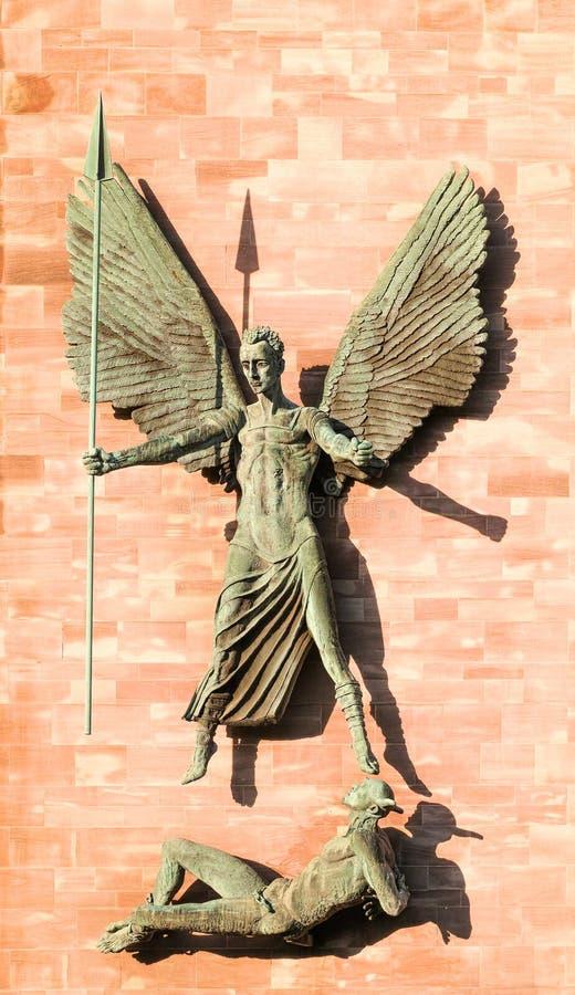 Coventry-Kathedrale stockbild