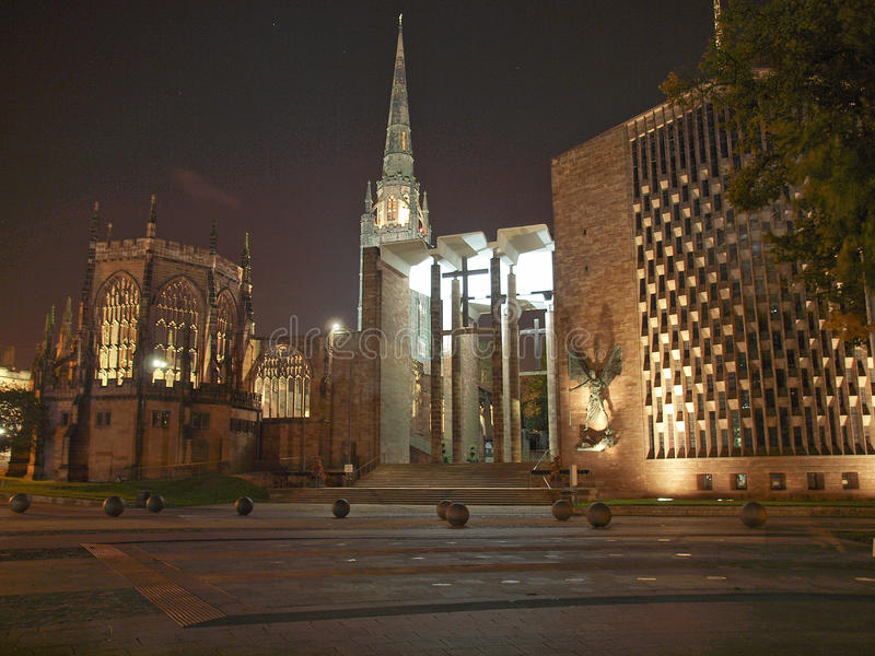 Coventry-Kathedrale lizenzfreie stockbilder