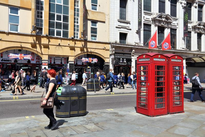 Coventry-Straße, London lizenzfreie stockfotografie
