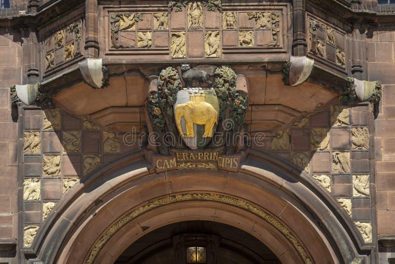 Coventry, Warwickshire, het UK, 27 Juni 2019, de Raad Huis van de Gemeenteraad van Coventry stock afbeelding