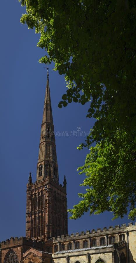 Coventry, Warwickshire, Regno Unito, il 27 giugno 2019, chiesa di trinità santa fotografie stock