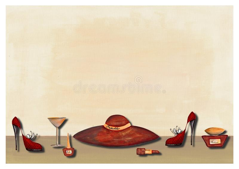 Download Cover stock illustration. Image of acrylic, scrapbook - 21454351