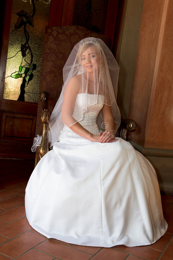 Cover Bride royalty free stock image