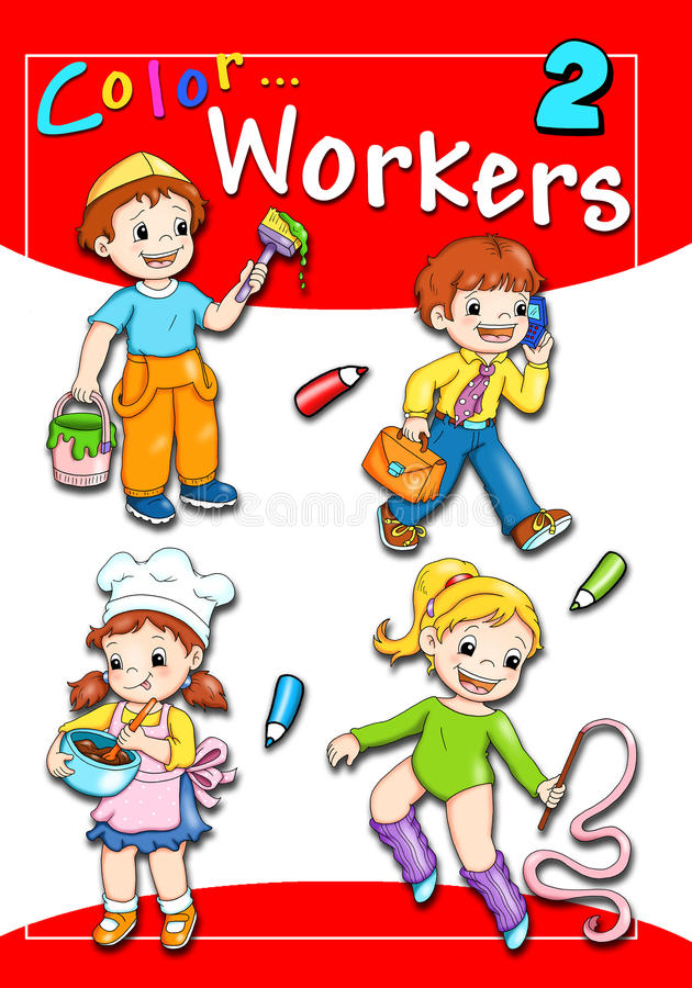 Free Cover - Color Workers 2 Royalty Free Stock Photo - 16335565